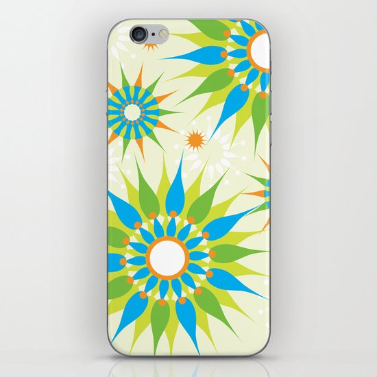 Popsy Twirl Bright iPhone & iPod Skin