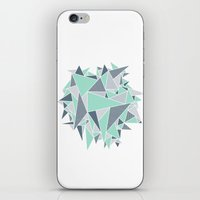 EXPLOSION-TRIANGLE iPhone & iPod Skin