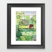 Alex's Attic Framed Art Print