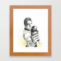 Star Trek: Capt. James T… Framed Art Print