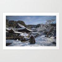 Kyoto Winter 2015 V (Kod… Art Print