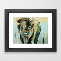 Buffalo Soldier Framed Art Print