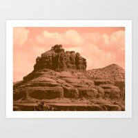 Bell Mountain, Sedona Ar… Art Print