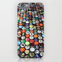 iPhone & iPod Case featuring Bottle Caps  by Shutterbee Photography