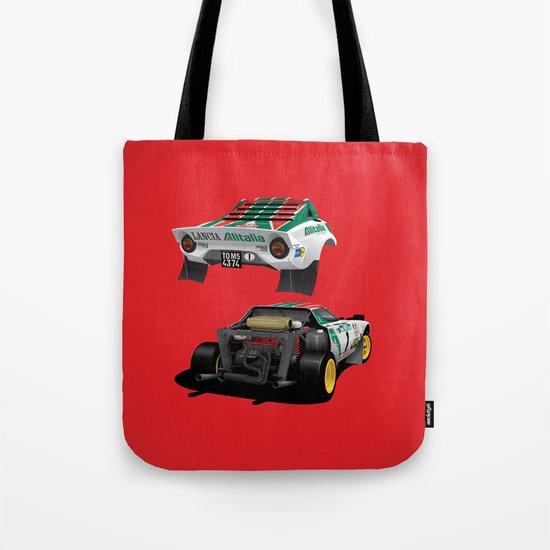 Lancia Stratos Tote Bag