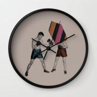 Mixed Martial Art Wall Clock