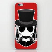 Gun Face iPhone & iPod Skin