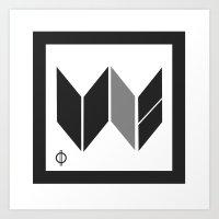 We Are The United -  Logo Identity  Art Print