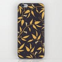 Gold Pattern iPhone & iPod Skin