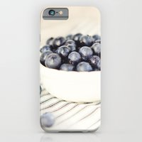 Scalloped Cup Full of Blueberries - Kitchen Decor iPhone 6 Slim Case