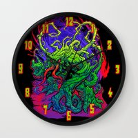 RISE, TENDRIL, RISE! Wall Clock