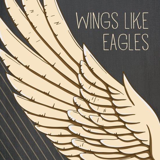 Isaiah 40:31 Wings like Eagles Art Print