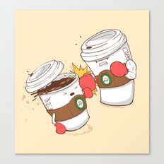 Strong Coffee Canvas Print