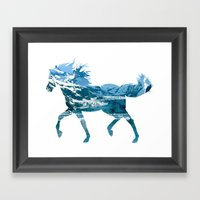 Horse Framed Art Print