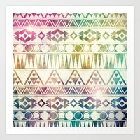 Tribal Horizons Art Print