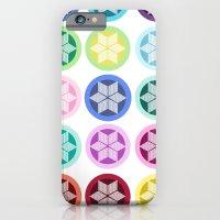 Colorful Snowflake Print iPhone 6 Slim Case