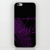 Emo spider iPhone & iPod Skin