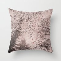 SILENT FOREST 4 Throw Pillow