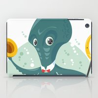 Mr Octopus iPad Case