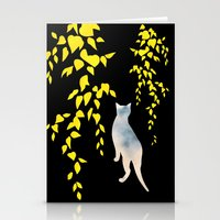 Japanese Cats Series - Y… Stationery Cards
