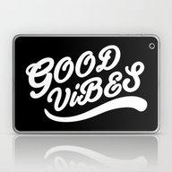 Good Vibes Happy Uplifti… Laptop & iPad Skin