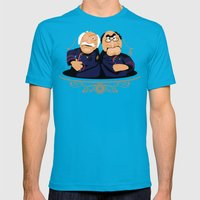 Frakking Awful Mens Fitted Tee Teal SMALL