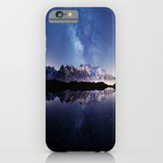 Milky Way over the Mountain iPhone 6 Slim Case