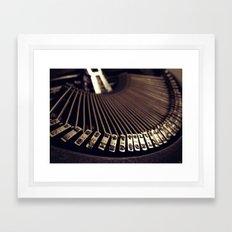 XED Framed Art Print