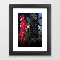Fastest Arrow Framed Art Print