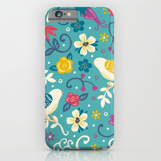Garden Birds iPhone & iPod Case