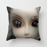 Facelift Throw Pillow