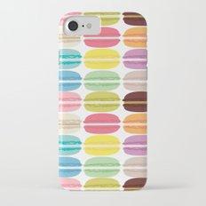 Rainbow Macarons Slim Case iPhone 7