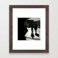 Four of us Framed Art Print