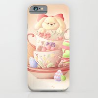 iPhone & iPod Case featuring Teacup Bunny by parochena