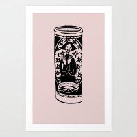 Burn Ur Icons Art Print