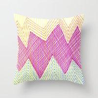 SummerJazz Throw Pillow
