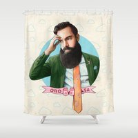 Mr. Montana Shower Curtain