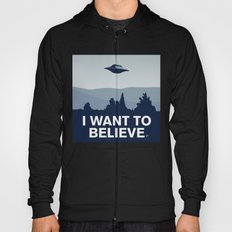 My X-files: I want to believe poster Hoody