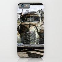Vintage pickup truck iPhone 6 Slim Case