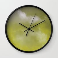Grace yellow version Wall Clock