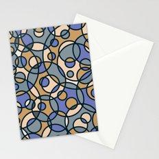 Elegant Circles Stationery Cards