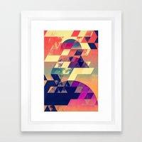 Lwnly Syn Framed Art Print