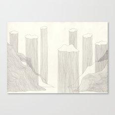 I design fjords. Canvas Print