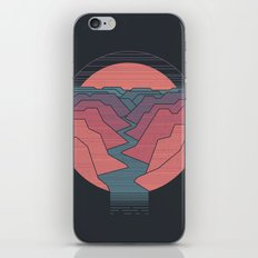 Canyon River iPhone & iPod Skin