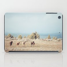 Oregon Wilderness Horses iPad Case