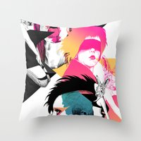 Regret Throw Pillow
