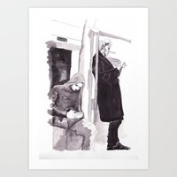 Men of Mystery Art Print