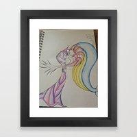 An Odd Love Framed Art Print