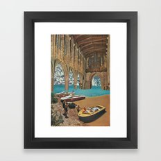 place of worship (with david delruelle) Framed Art Print