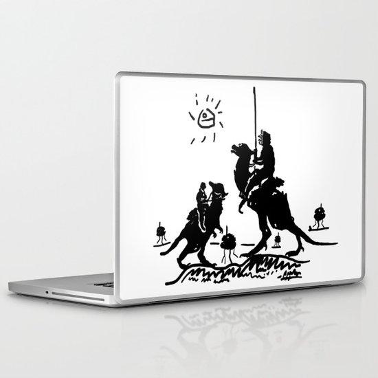 Han Quixote Laptop & iPad Skin